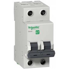 Выключатель автоматический двухполюсный 32A C 4.5кА EASY 9