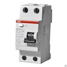 Выключатель дифференциального тока (УЗО) 2п 40А 30мА FH202