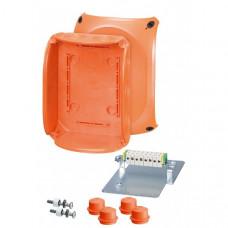 Коробка клеммная 5 положений до10мм2 155х210х92мм IP65/66 EDKF32 (IP65) пожаростойкая FK 1610 Hensel (FK 1610)