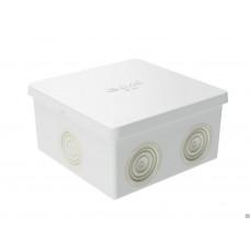 Коробка распределительная 80х80х40мм IP44 с кабельными вводами (53700)