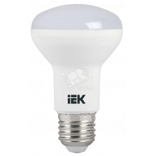 Лампа светодиодная LED рефлекторная 8вт E27 R63 белый ECO