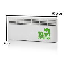 Конвектор 1000W с механическим термостатом IP21 389мм