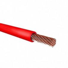 Провод силовой ПУГВ 1х0.75 красный многопроволочный