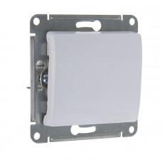 GLOSSA Выключатель одноклавишный в рамку белый сх.1
