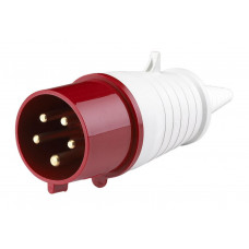 Вилка каб 32А 3Р+N+E IР44 перен 415В Easy&Safe