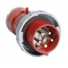 Вилка кабельная 32А 3Р+N+E IР67 переносная 400В AM-TOP