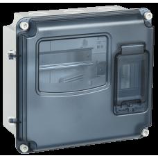 Корпус пластиковый ЩУРн-П 1/3 IP55 PC (MSP1-N-03-55)