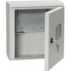 Щит учетно-распределительный навесной ЩУРн-1 IP54 ЩУ-1 1 дверь (MKM51-N-01-54)