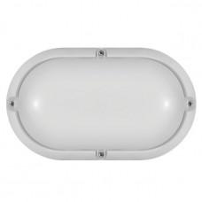 Светильник светодиодный ДБП-7w 4000К 520Лм овальный пластиковый IP65 белый ОНЛАЙТ