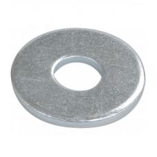 Шайба усиленная DIN 9021, покрытие белый цинк, М10, 1 кг.