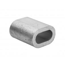 Зажим для стальных канатов алюминиевый DIN 3093, Д 1,5
