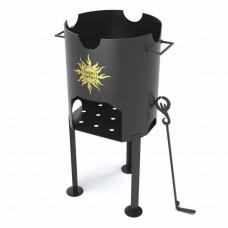 Печь Царь-Печка под казан (12 л) 8 мм